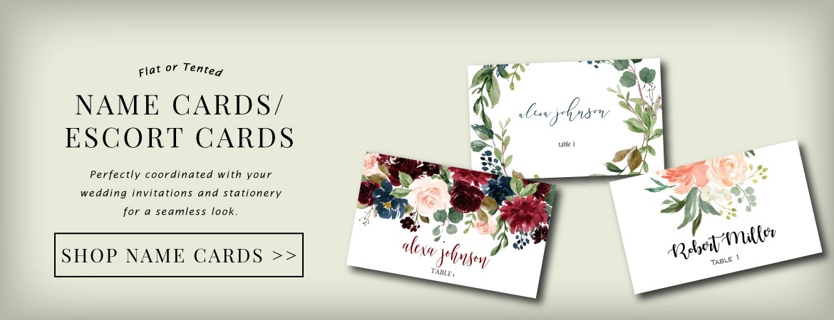 name-card-escort-card-banner