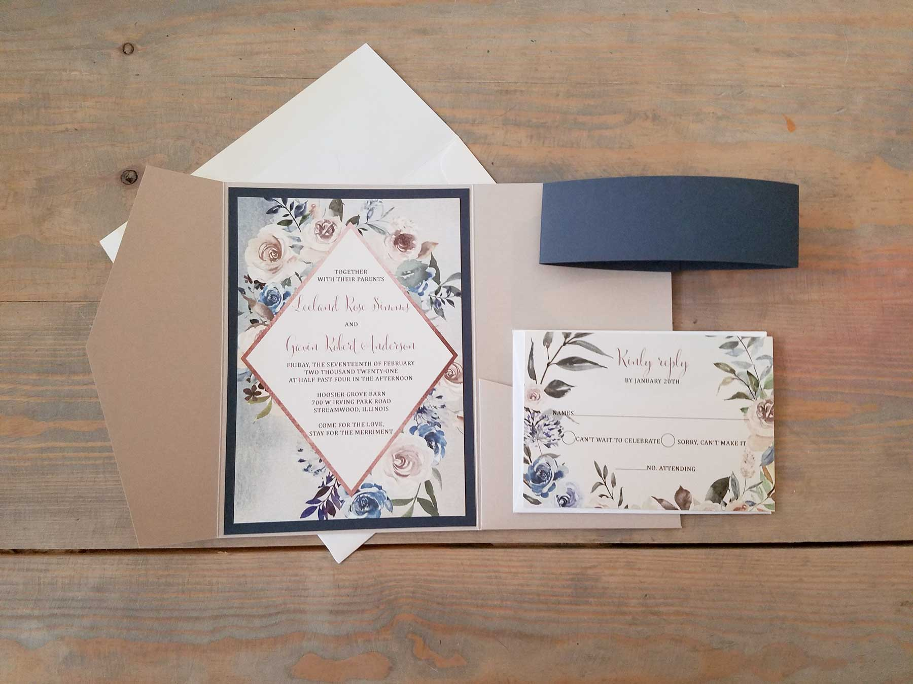 lake-sand-navy-pocket-wedding-invitation-5