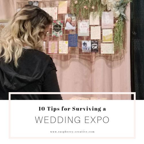 10 Tips for Surviving a Wedding Expo