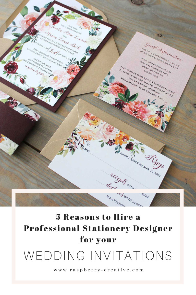 5 Reasons Why You Should Hire A Stationery Designer For Your