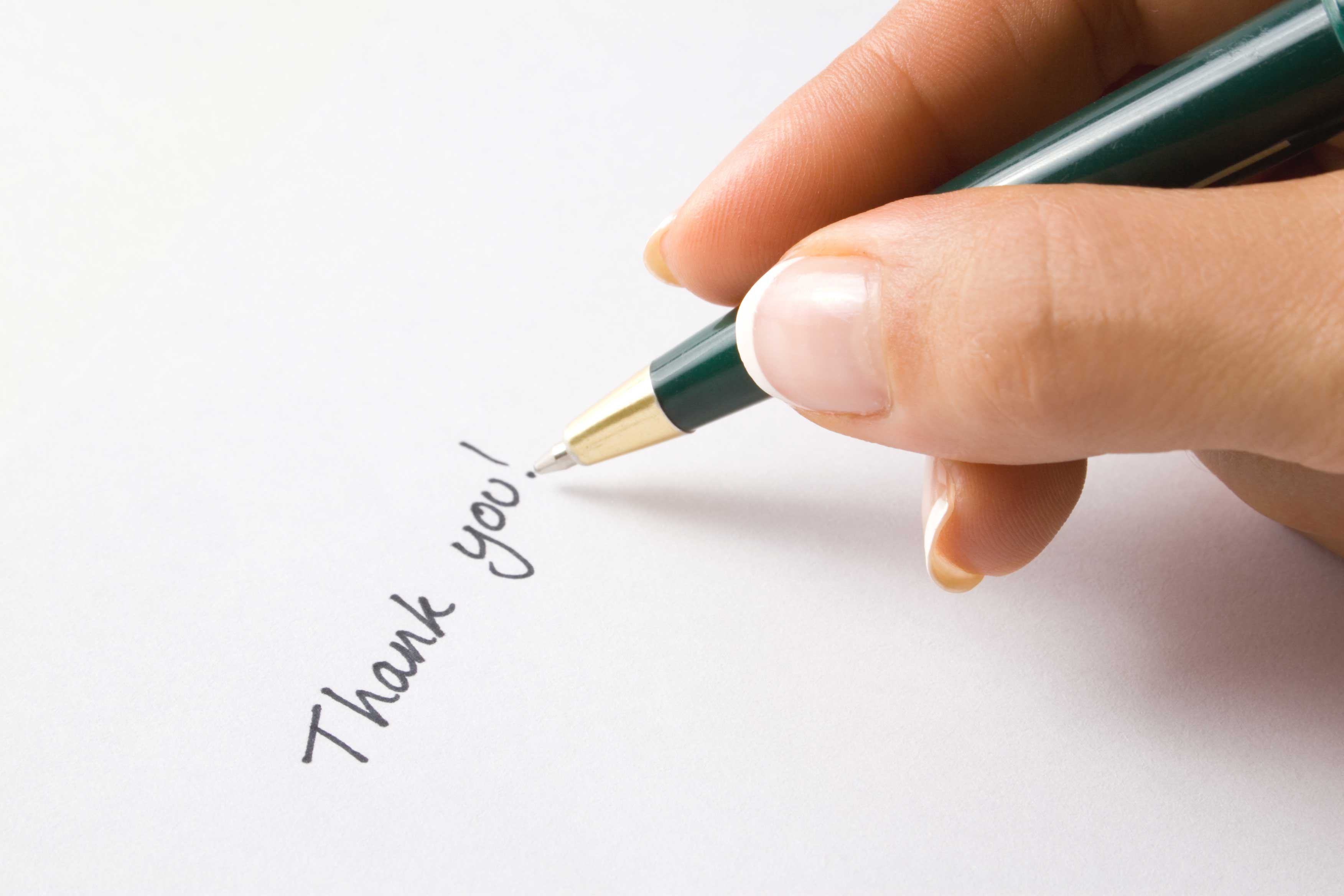 ordering thank you cards