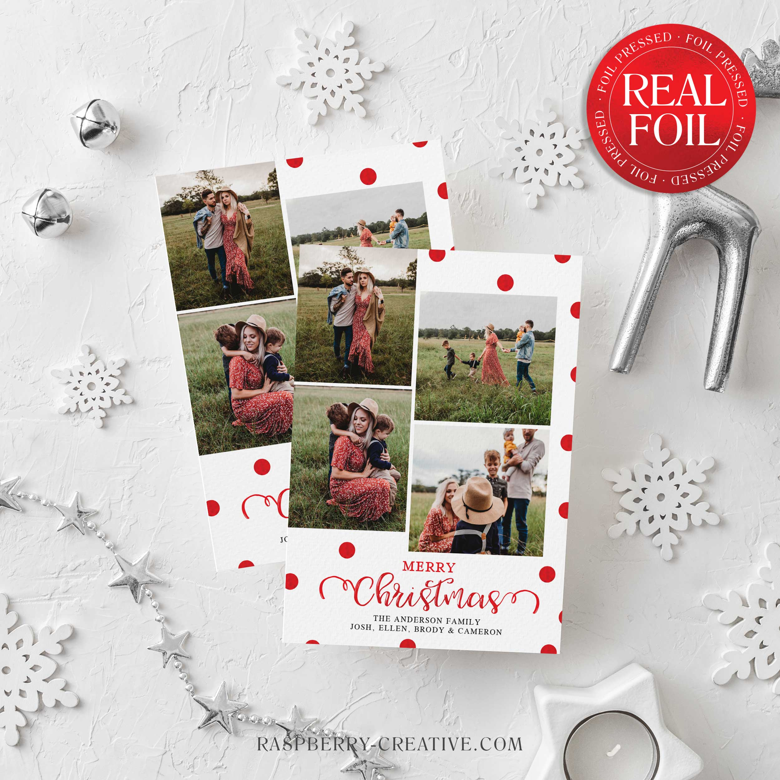 foil-stamped-polka-dot-merry-christmas-2