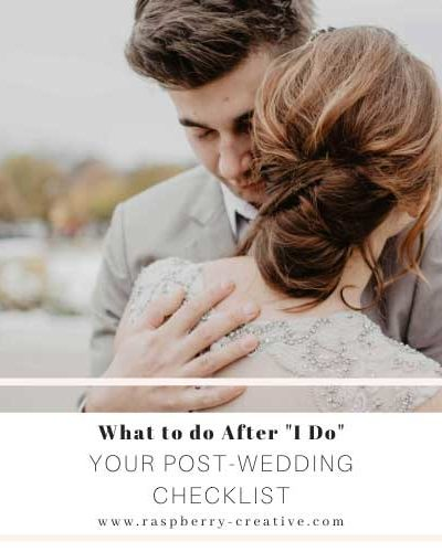 what to do after i do your after wedding checklist
