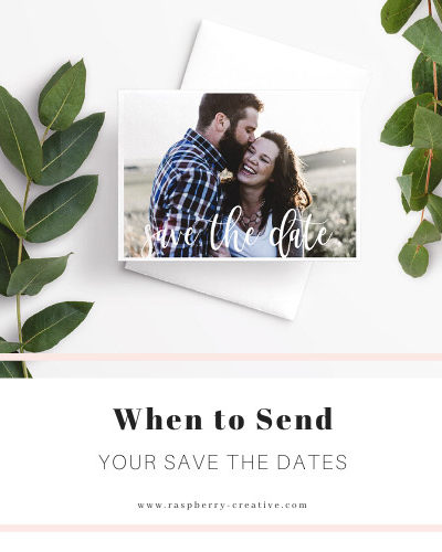 when to send your save the dates