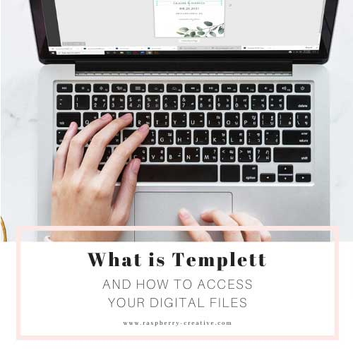 How to Access your Templett Template after Purchase