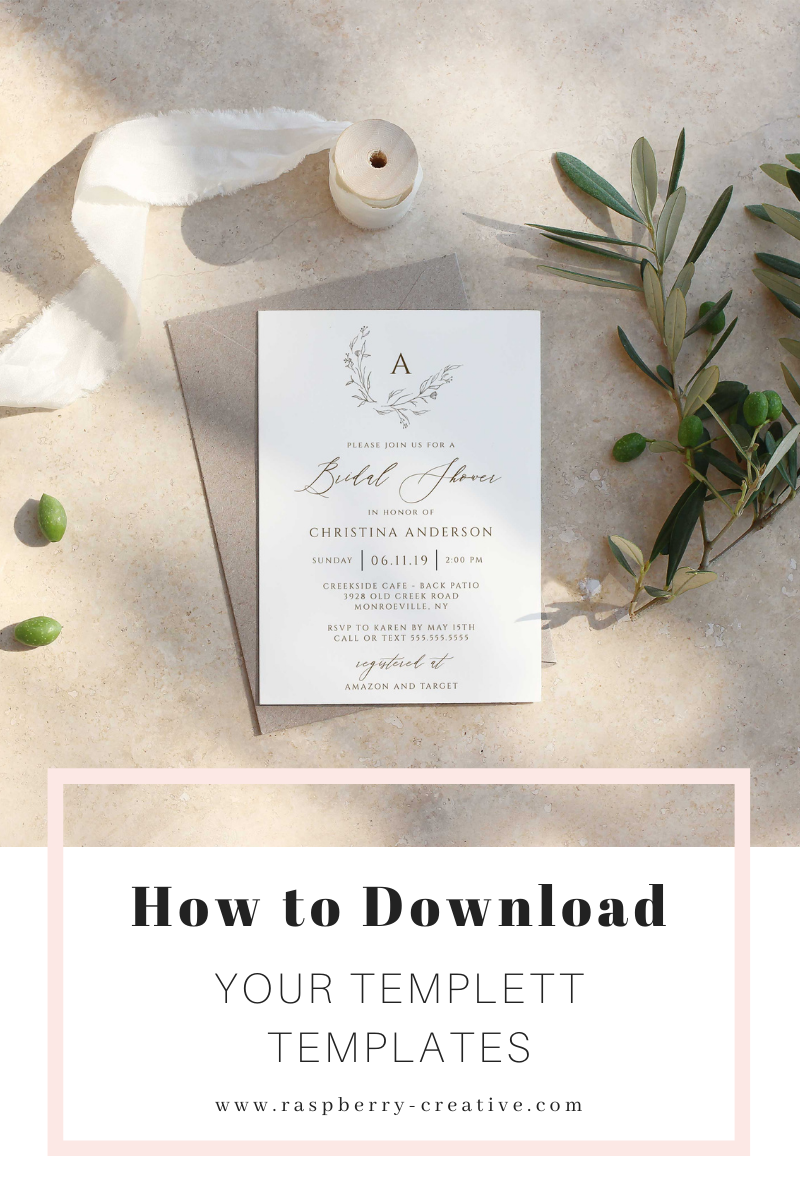 how to download your templett template
