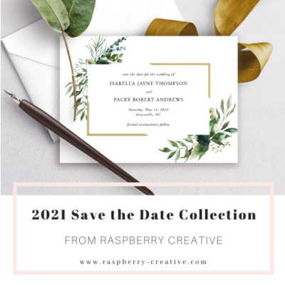 2021 Save the Date Collection Preview