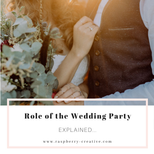 role of the wedding party