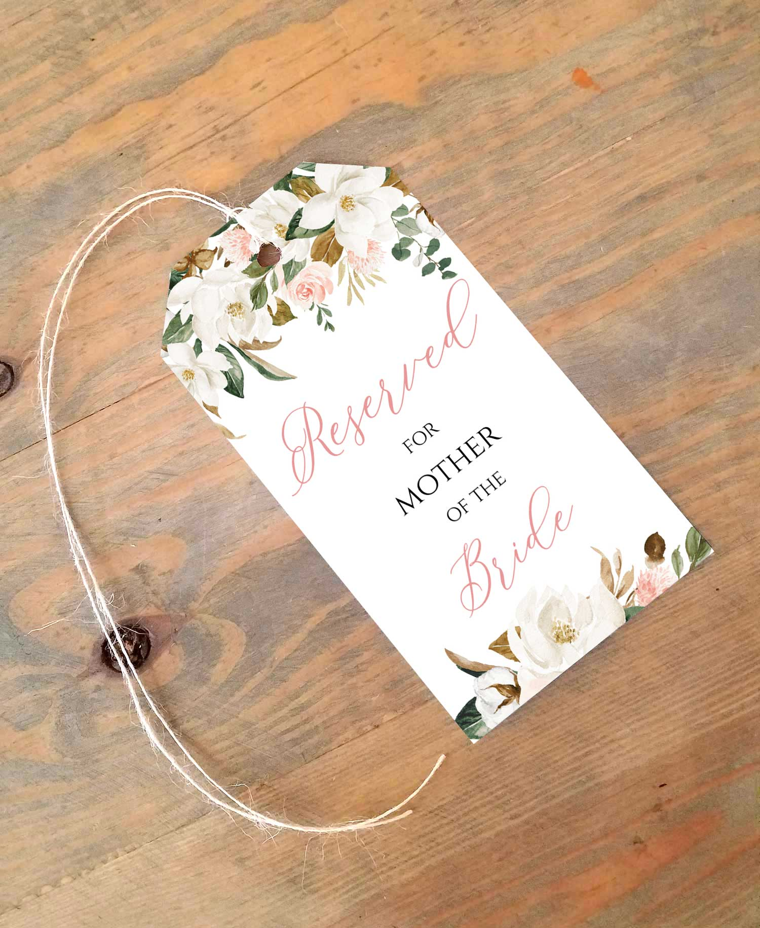 magnolia reserved seating tag