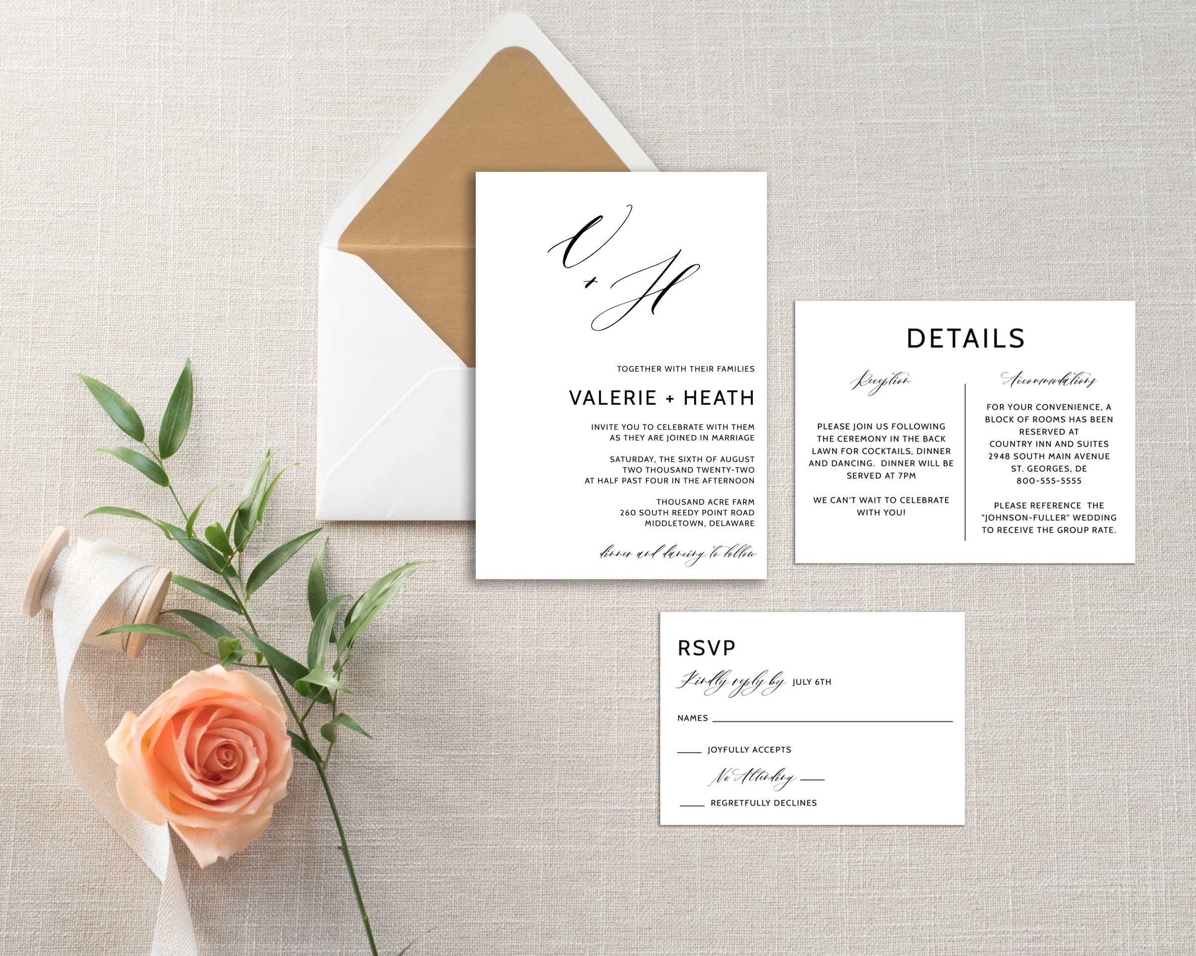 minimalist-calligraphy-initials-wedding-invitation-set-2