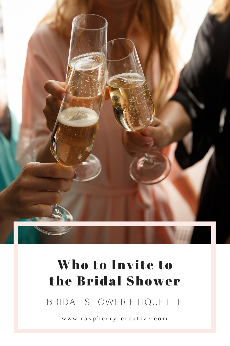 who to invite to the bridal shower