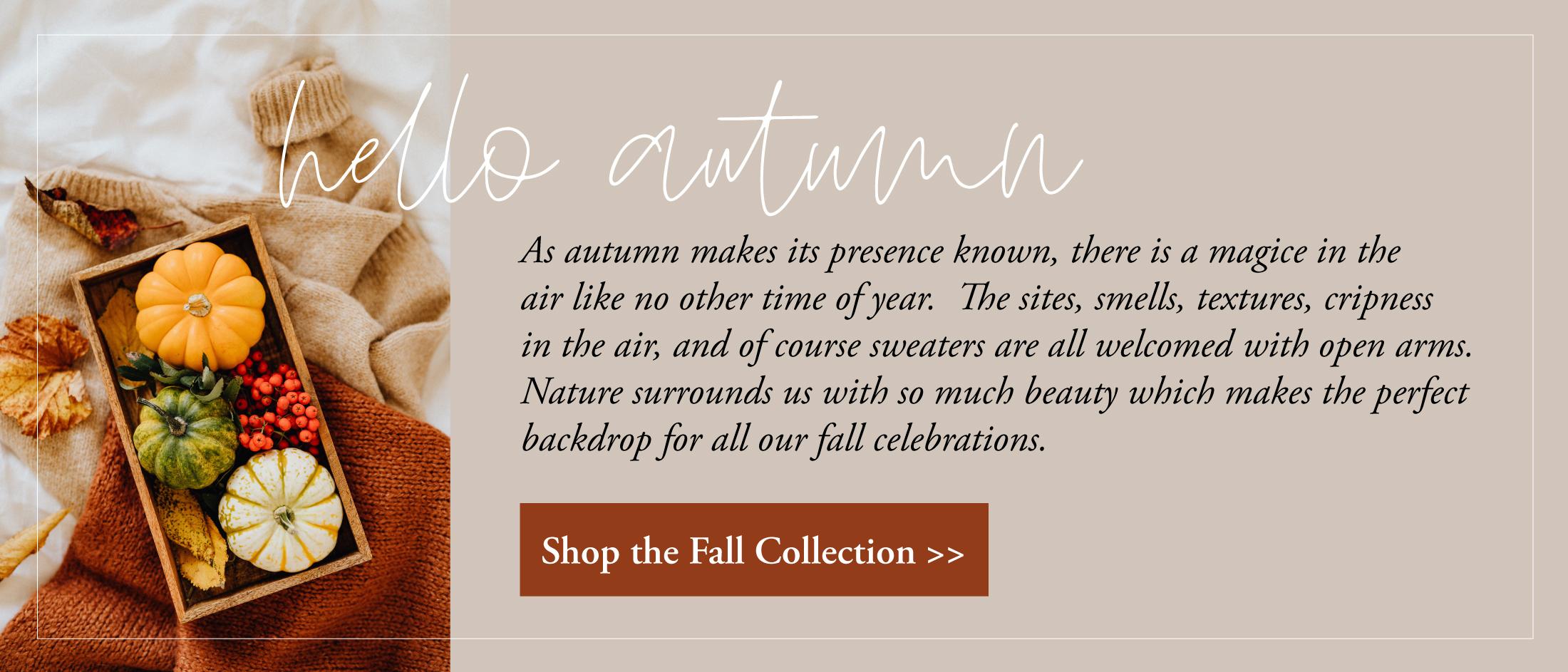 fall stationery