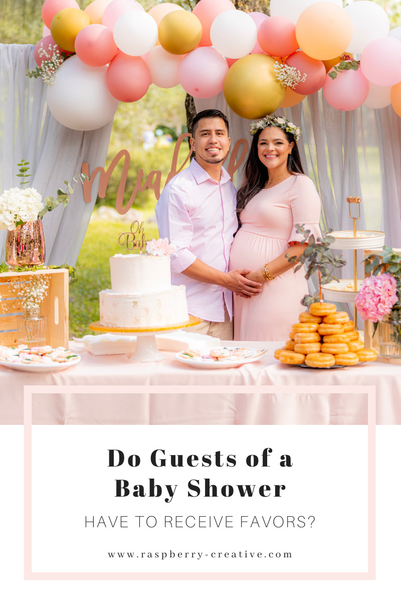 do guests of a baby shower get favors