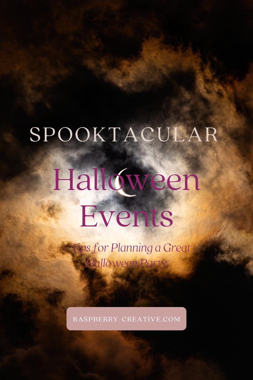 spooktacular halloween events